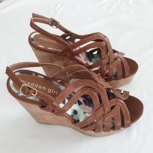 Madden Girl's Brown Shoes